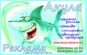 АкулаРеклама Все виды рекламы