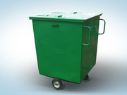 Контейнер для бытовых отходов передвижной от производителя