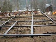 Фундамент на сваях установим в Вороново и районе