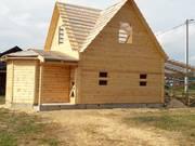 Дом-Баня из бруса готовые срубы с установкой-10 дней Вороново