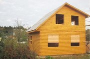 Дом-Баня из бруса готовые срубы с установкой-10 дней недор Мосты