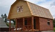 Дом-Баня из бруса готовые срубы с установкой-10 дней недор Островец