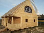 Дом-Баня из бруса готовые срубы с установкой-10 дней недорого Свислочь