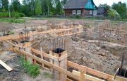 Фундамент,  Подьем Домов,  Кладка блока и кирпича в Новогрудке