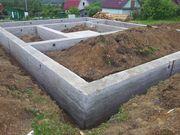 Фундамент,  Подьем Домов,  Кладка блока и кирпича в Щучине