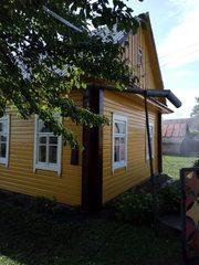 Покраска всех типов деревянных домов в Новогрудке. Мойка крыш