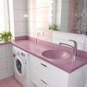 Столешницы из искусственного камня в ванную и кухню в Гродно