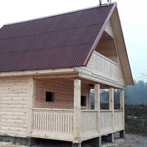 Дома из бруса Офелия 6 × 4 установка в Островецком р-не