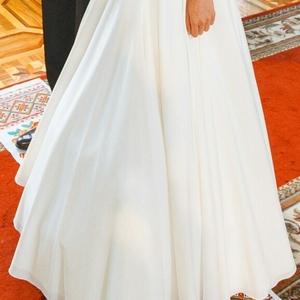 Нежное и романтичное свадебное платье