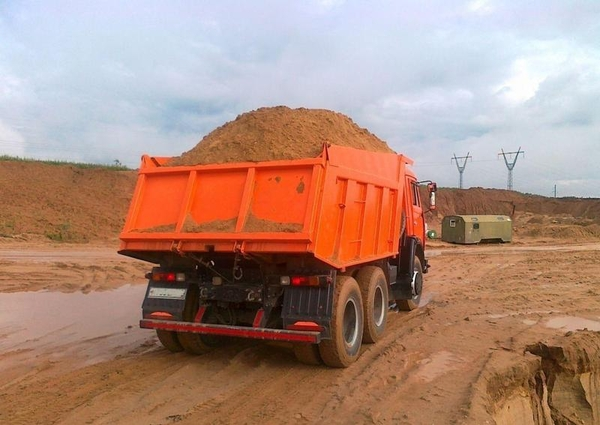 Песок доставка по 20 т Гродно и район