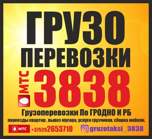 ГРУЗОПЕРЕВОЗКИ 3838. Грузоперевозки По ГРОДНО И РБ - 9